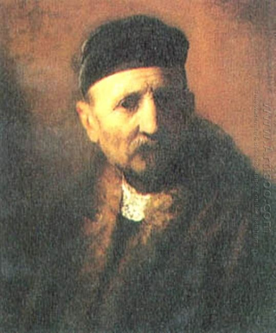 Bust Of An Old Man With A Beret 1631
