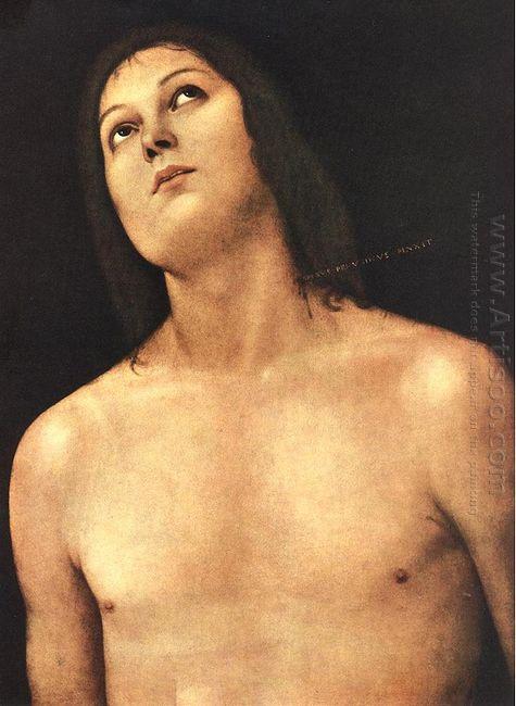 Bust Of St Sebastian 1494