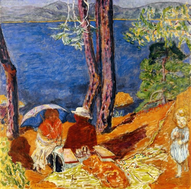 By The Sea Under The Pines 1921