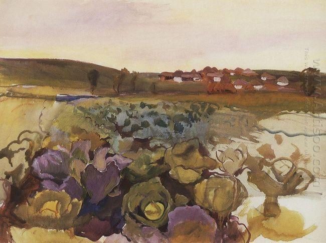 Cabbage Village Neskuchnoye 1909