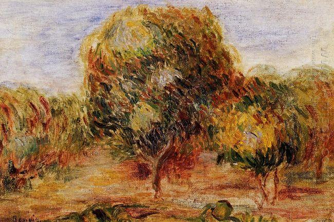 Cagnes Landscape 1908 1