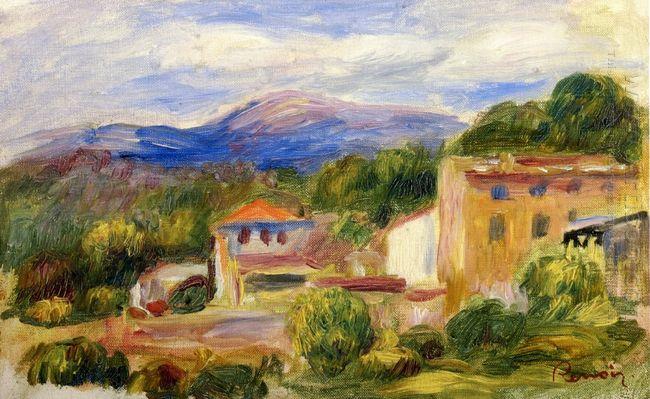 Cagnes Landscape 1910 1