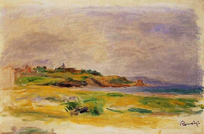 Cagnes Landscape 1910 2