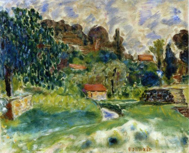 Cagnes Landscape 1916