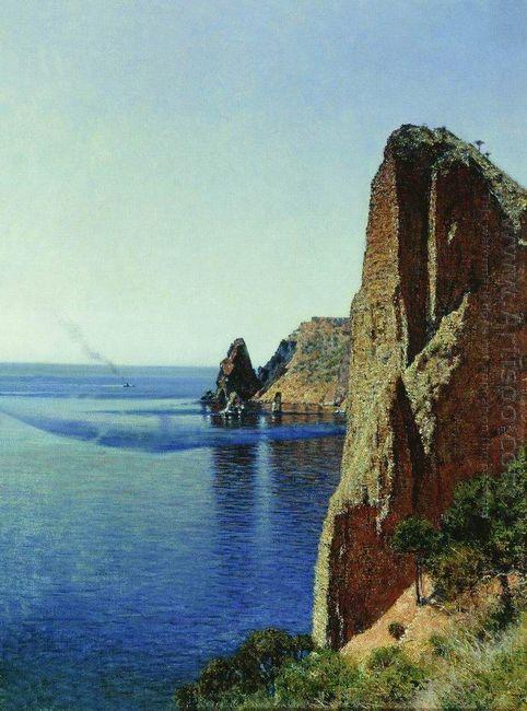 Cape Fiolent Near Sevastopol 1897