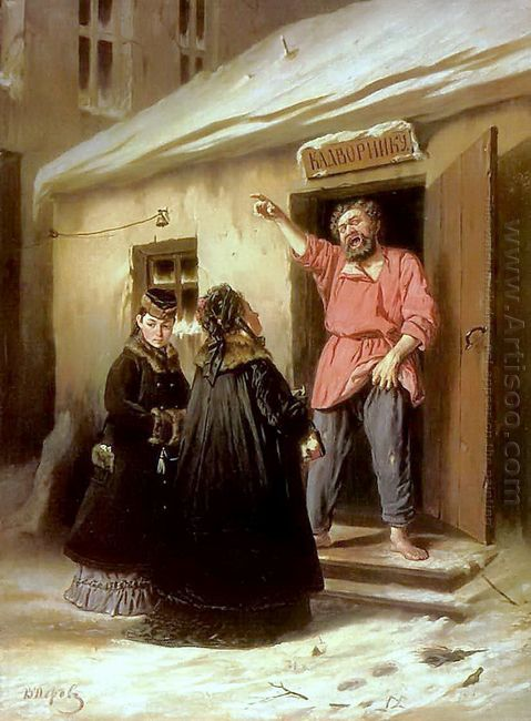 Caretaker Letting An Apartment To A Lady 1878
