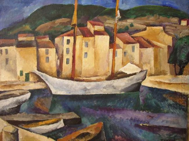 Cassis Boats 1913