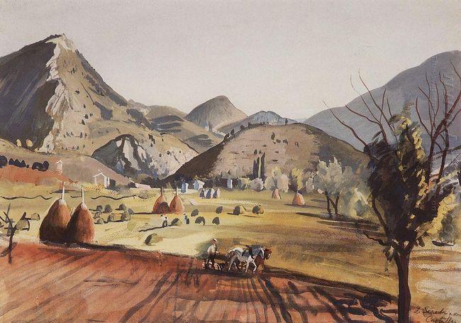 Castellan Valley 1929