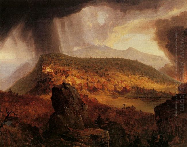 Catskill Mountain House The Four Elements 1844