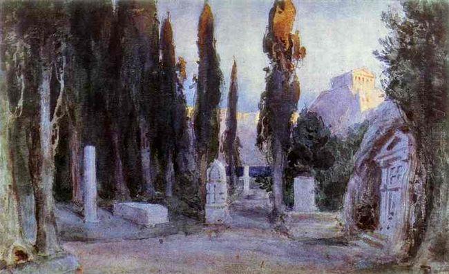 Cemetery 1897