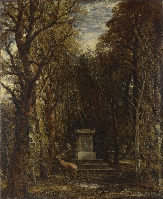Cenotaph To The Memory Of Sir Joshua Reynolds 1