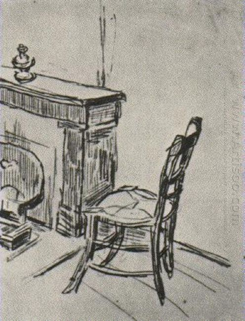 Chair Near The Stove