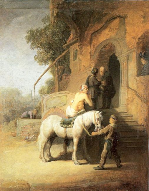 Charitable Samaritan Also Known As The Good Samaritan 1638