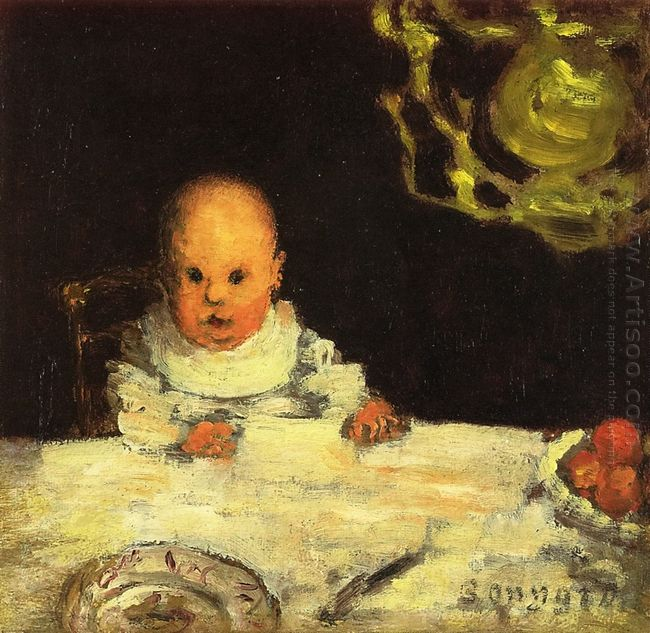 Child At Table 1893