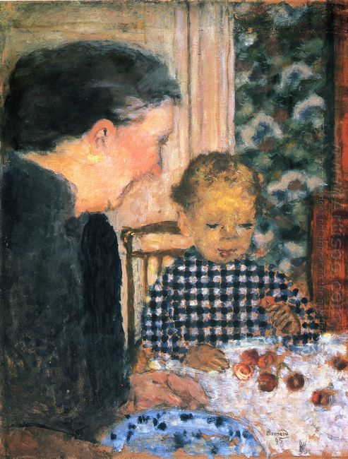 Child Eating Cherries 1895