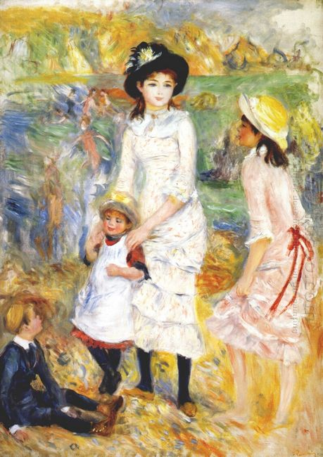Children On The Seashore 1883