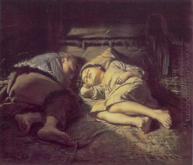 Children Sleeping 1870