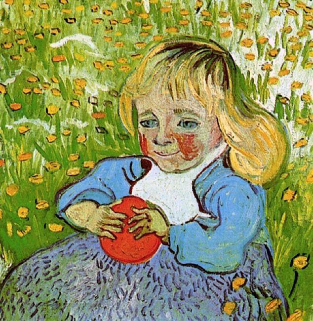 Child With Orange 1890