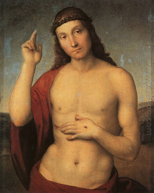Christ Blessing 1502