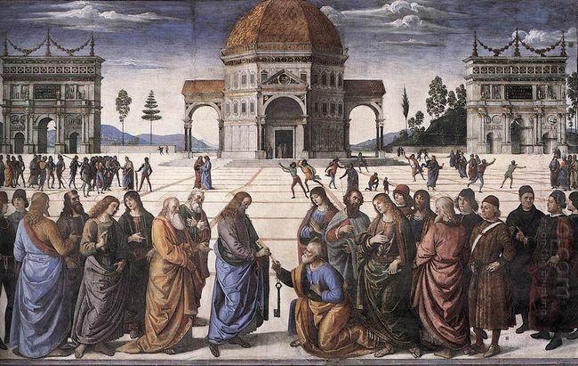 Christ Handing The Keys To St Peter 1482