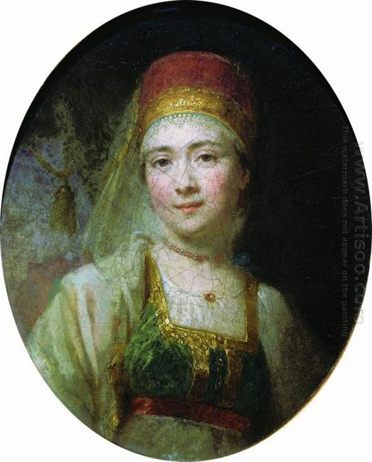 Christina The Peasant Woman From Torzhok