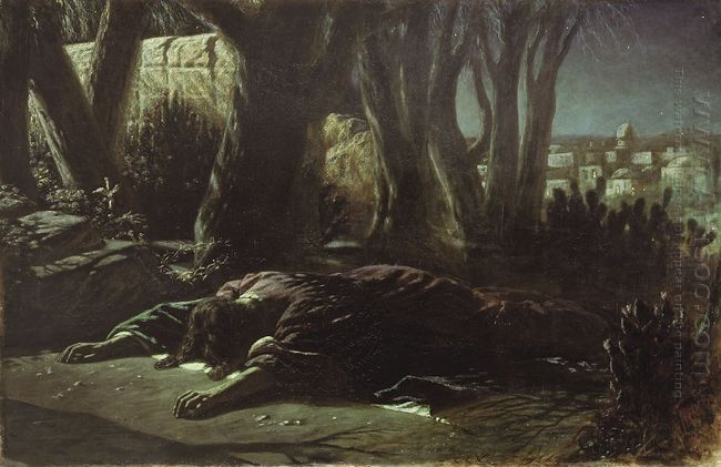 Christ In Gethsemane 1878