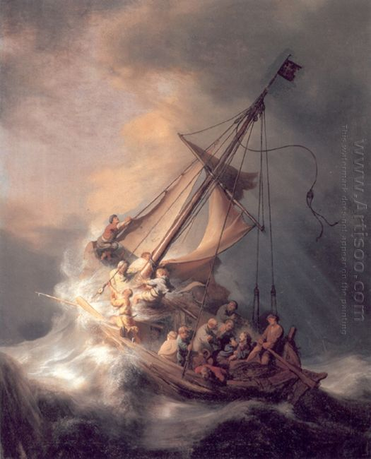 Christ In The Storm 1633