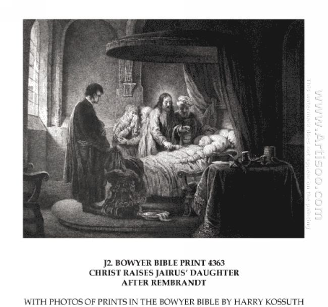 Christ Raises Jairus