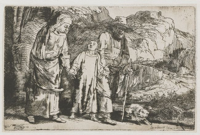 Christ Returning From The Temple With His Parents 1654