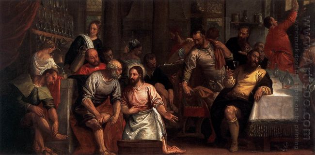 Christ Washing The Feet Of The Disciples