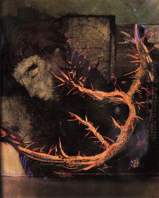 Christ With Red Thorns