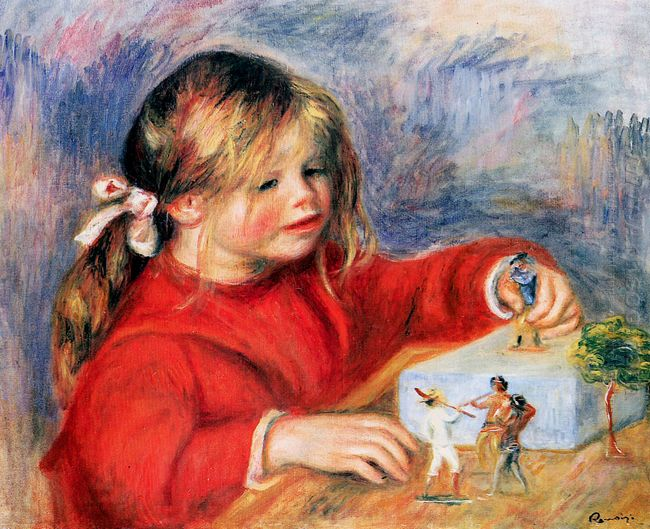 Claude Renoir At Play Sun 1905