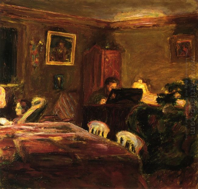 Claude Terrasse At The Piano