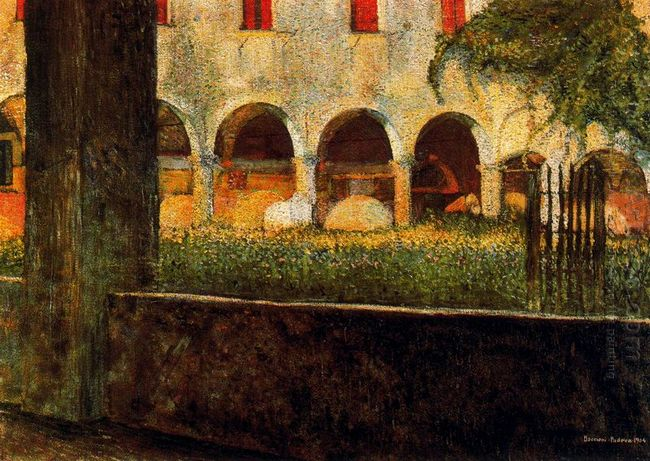 Cloister Of S Onofrio 1904