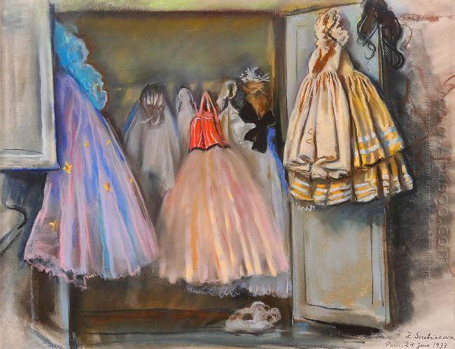 Closet Of Ballerina Irina Baranova 1933