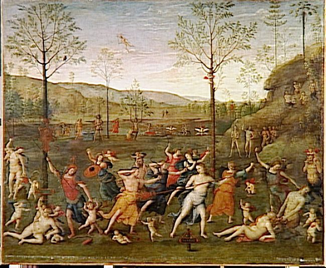 Combat Of Love And Chastity 1505