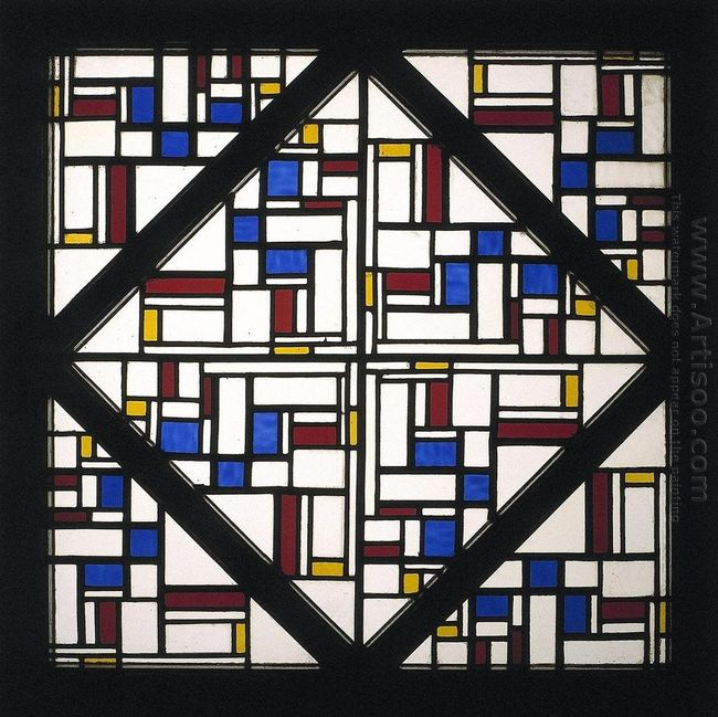 Composition With Window With Coloured Glass Iii 1917