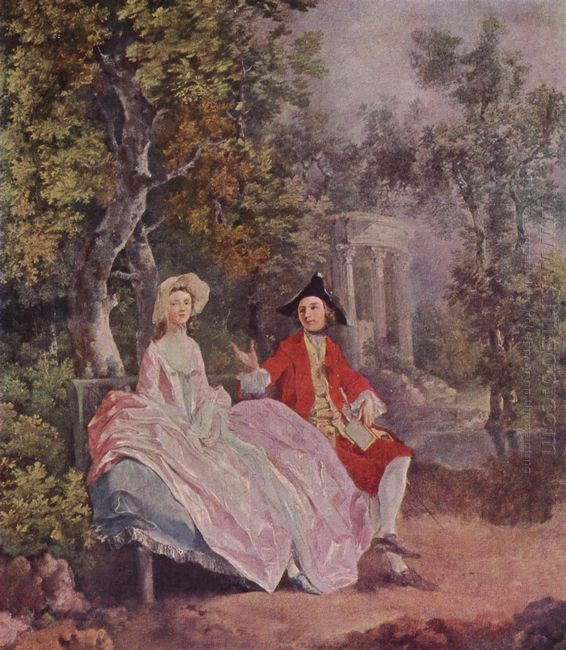 Conversation In A Park 1745