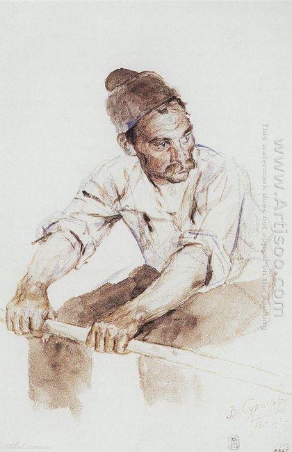 Cossack Rower 1892