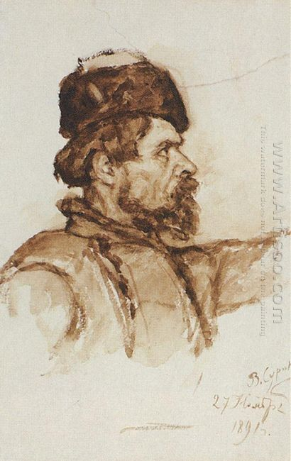 Cossack S Head 1891