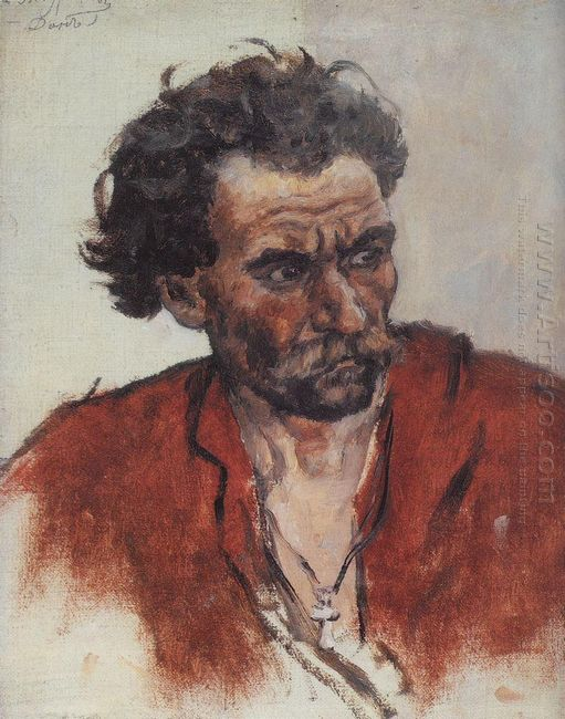 Cossack With Red Shirt