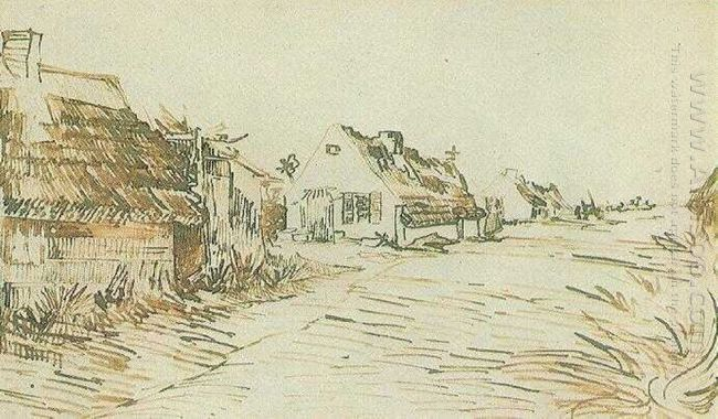 Cottages In Saintes Maries 1888