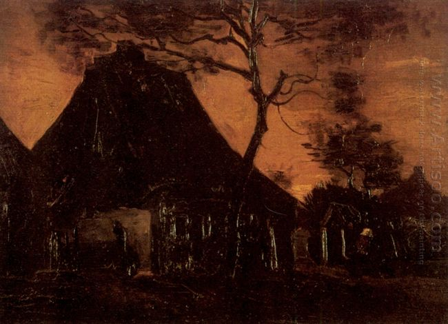 Cottage With Trees 1885 1