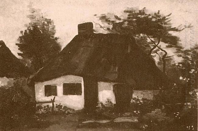 Cottage With Trees 1885