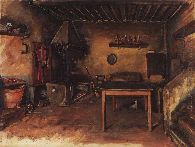 Country Kitchen Around Budzhiano 1932