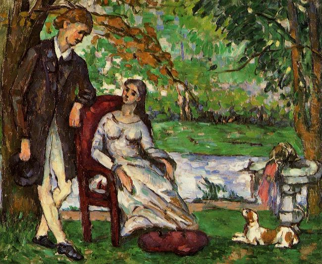 Couple In A Garden