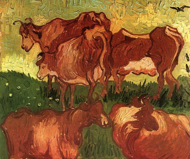 Cows 1890