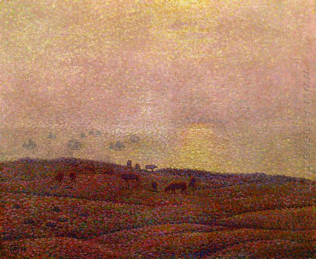 Cows In A Landscape 1899