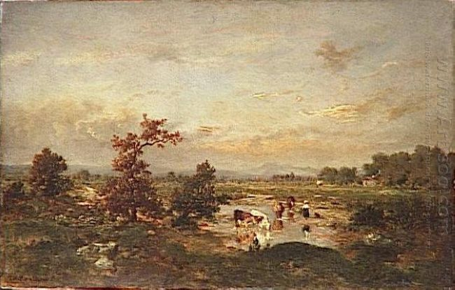 Cows In The Mare 1855
