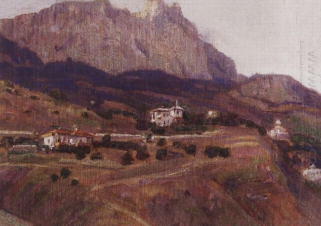 Crimea Ai Petri 1908